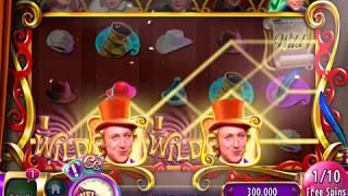 """WILLY WONKA CANDY CONTRACTS Video Slot Casino Game with a """"BIG WIN"""" FREE SPIN BONUS"""