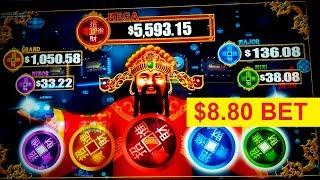 Reel Riches High Class Slot - $8.80 Max Bet - BIG WIN SESSION!