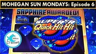 MOHEGAN SUN MONDAYS! SUPER BIG WIN on Spinning Streak Slot Machine, Sweet Sugar Hits Big Win!!
