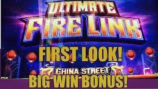 •FIRST LOOK!• ULTIMATE FIRE LINK  SLOT-BIG WIN BONUS