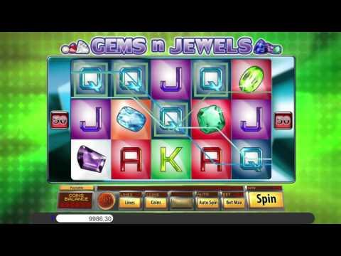 Free Gems N Jewels slot machine by Saucify gameplay ★ SlotsUp