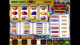 JPM Classic Full House Blue Bars Big Win Classic 80s Fruit Machine Video Slot