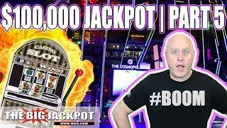 $100,000 JACKPOT PART 5  • Patreon Exclusive •  HIGH LIMIT SLOTS | The Big Jackpot