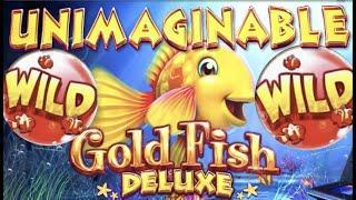 I WANT A GOLD FISH!! • GOLD FISH DELUXE & OCEAN SONG SLOT WINS! Slot Machine Bonus
