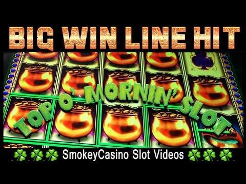 Top O' Mornin' Slot Machine BIG WIN LINE HIT - WMS
