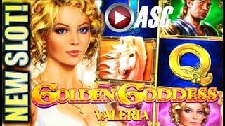 •NEW SLOTS!• GOLDEN GODDESS (VALERIA & TULLIA) IGT | G2E 2017 SNEAK PEEK PREVIEW! SLOT MACHINE BONUS