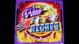 NICE WIN ON WILD FIRE RICHES SLOT MACHINE BONUSES & RETRIGGERS BY AINSWORTH GAMES