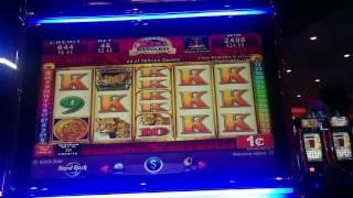 Konami Mayan Chief Xtra Reward Slot Machine Bonus - 78 Free Spins