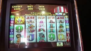 TBT Aristocrat Roll up Roll up Free Spin bonus round