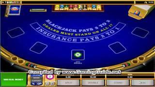 All Slots Casino's European Blackjack Table 2