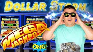 MY BIGGEST JACKPOT On High Limit Dollar Storm Slot Machine! Live Slot Play ! Las Vegas Wynn Casino