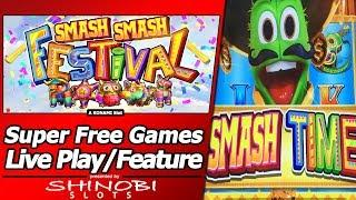Flamenco Flare and Chili Chili Fire Slot with Smash Smash Festival Features