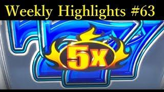 Slots Weekly Highlights #63 For you who are busy•Jackpot Handpay - Black Diamond Slot, Casino