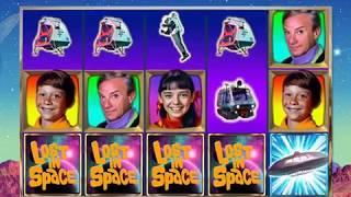 LOST IN SPACE Video Slot Casino Game with a SPACE ADVENTURE FREE SPIN BONUS