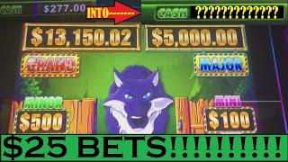 •HIGH LIMIT HUFF n PUFF! •UP TO $2500 WHEN SHOULD I CASH OUT???