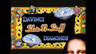 DaVinci Diamonds High Limit Slot Wins Gambling on DaVinci Diamonds • Slots N-Stuff