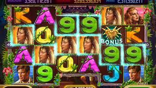 KING KONG Video Slot Casino Game with a KING KONG FREE SPIN BONUS