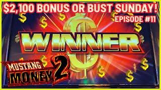 MUSTANG MONEY 2 Slot Machine ⋆ Slots ⋆️HIGH LIMIT Session with $30 SPINS ⋆ Slots ⋆️Minor Progressive