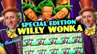 •SPECIAL WINS• WILLY WONKA slot machine BONUS/BIG WINS COMPILATION