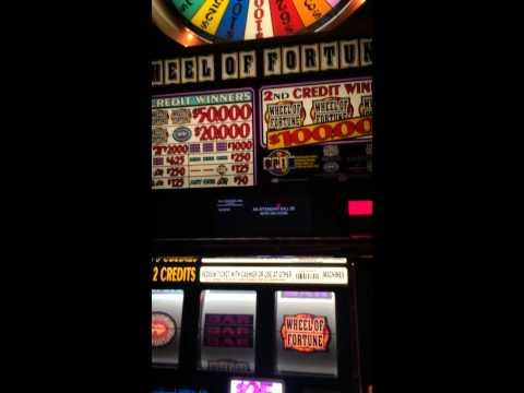 Wheel of fortune HANDPAY big JACKPOT high limit slots $50 bet sp