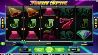 Free Twin Spin Slot by NetEnt Video Preview | HEX