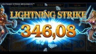 Lightning Strike Megaways - BIG WIN!