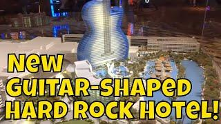 Guitar-Shaped Hotel Topping Out Ceremony at Seminole Hard Rock Hotel & Casino