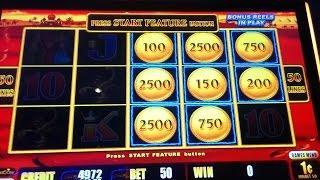 BIG WIN - Great Run on Lightning Link Slot Machine - Bonus Compilation