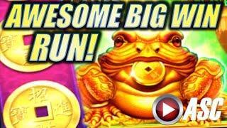 •AWESOME BIG WIN RUN!• ZHEN CHAN (EVERY SECOND COUNTS!) Slot Machine Bonus (SG | BALLY)