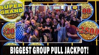 ★ Slots ★ MY BIGGEST GROUP PULL JACKPOT EVER! ★ Slots ★ $13,500 In ★ Slots ★ Super Grand Chance ★ Sl