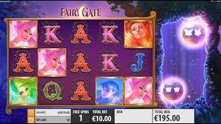 Fairy Gate Online Slot by Quickspin - Fairy Wild Respin Feature!