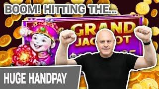 ⋆ Slots ⋆ HITTING. THE. GRAND. BOOM! ⋆ Slots ⋆ Coin Combo (+ More) = Almost $23,000 at Cosmo Las Vegas!
