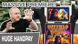 ⋆ Slots ⋆ BUFFALO CHIEF PREMIERE! ⋆ Slots ⋆ TWO Serious Handpay Jackpots In Vegas!