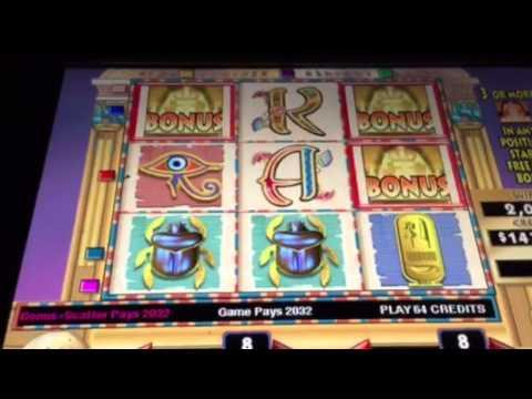 GAME KING CLEOPATRA $32 BET JACKPOT BIG BACK TO BACK WINS
