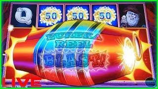 • LOCK IT LINK EUREKA REEL BLAST • SLOT MACHINE - BONUS - LIVE PLAY