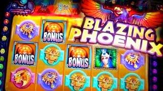 Blazing Phoenix Bonuses - 5c Wms Video Slots