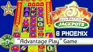"⋆ Slots ⋆️ New 5 Coin Frenzy Jackpots ""8 Phoenix"" slot machine, Nice Bonus"