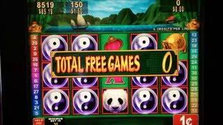 •KONAMI CHINA SHORES Slot machine• 120 + Bonus spins BIG WIN •$1.50 Bet