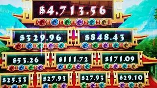 Dragons Over Nanjing Bonus Win Live Play •LIVE STREAM Gambling• LIVE at San Manuel Casino• Part 3