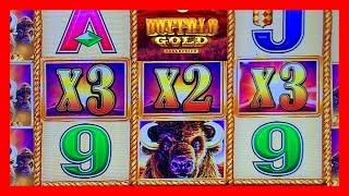 BUFFALO GOLD • LIVE PLAY & BONUSES  • BIG SLOT MACHINE WINS