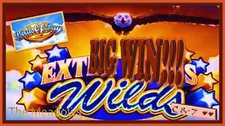 FOXY WIN!! •Birds of Pay & •FLAMING Jackpots • Slot Machine Bonus ~ Aristocrat•