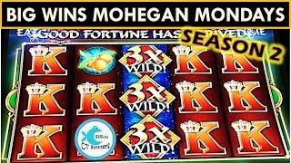 THE RETURN OF MOHEGAN SUN MONDAYS! SEASON 2! BIG WINS FU DAO LE SLOT MACHINE, TREE OF WEALTH