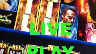 BIG WIN!!! LIVE PLAY on Walking Dead Slot Machine with Bonuses