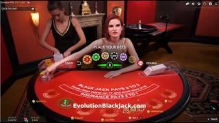 VIP Live Blackjack Min £50 Bets 28th November 2016