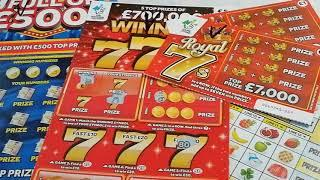Bigger game..Longer time.Scratchcard Game..MONOPOLY...20X CASH...WINNING 777.and more