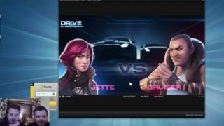 NetEnt - Drive - Massive Bonus win with LetsGiveItaSpin