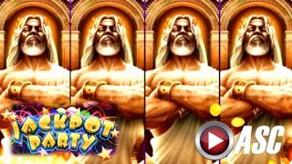 •JACKPOT PARTY CASINO FRIDAY!• KRONOS: FATHER OF ZEUS (SG/WMS) •SLOT GAME REVIEW•