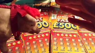 Scratchcard Bonus game.....FAST 500.....MONOPOLY.....etc....Like wanted for tonight's game