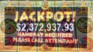 •WOW $2.3 MILLION CASHOUT• High Roller Casino Machine Jackpot Handpay, Aristocrat Whales of Cash • S