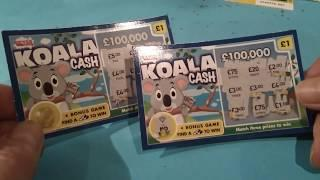 Wow!..it's ..National Lottery Scratchcards ..Vs..Poundland Scratchcard